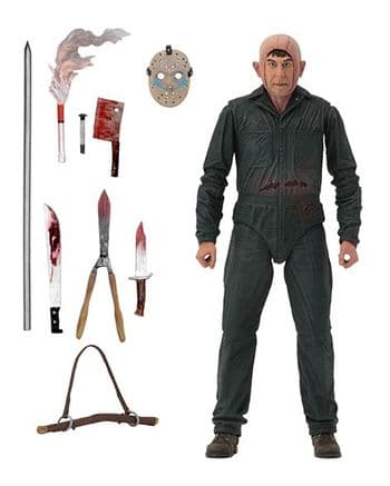 NECA Friday the 13th Part V Utimate Roy Burns Action Figure - Instock