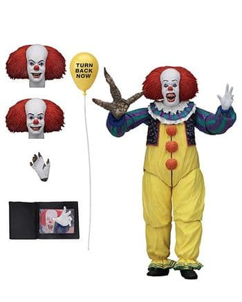 NECA IT 1990 Pennywise Version 2 Ultimate Action Figure