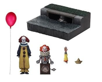 NECA IT Movie 2017 Pennywise Accessory Diorama Set