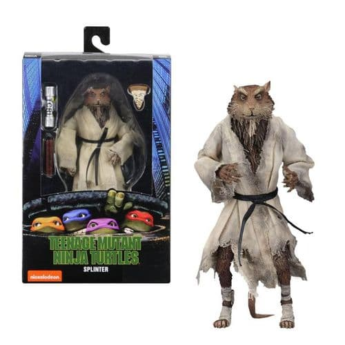 NECA Teenage Mutant Ninja Turtles 1990 Movie Series 2 Splinter Action Figure - Instock