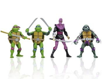"NECA TMNT: Turtles in Time - 7"" Action Figure Assortment Series 1 Set"