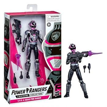 Power Rangers Lightning Collection S.P.D. A-Squad Pink Ranger