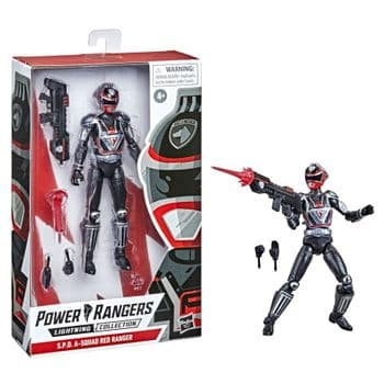 Power Rangers Lightning Collection S.P.D. A-Squad Red Ranger - PRE-ORDER