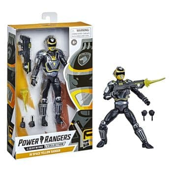 Power Rangers Lightning Collection S.P.D. A-Squad Yellow Ranger - PRE-ORDER