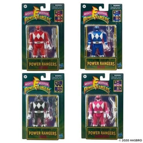 Power Rangers Retro Collection Red Power Ranger Action Figure - INSTOCK