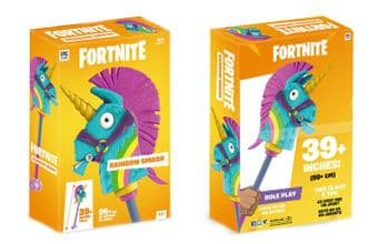 """Pre-Order McFarlane Toys Fortnite Video Game Rainbow Smash 39"""" Pickaxe Roleplay"""