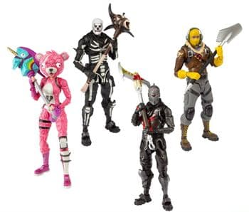 """Pre-Order McFarlane Toys Fortnite Video Game Set of Four 7"""" Action Figure"""