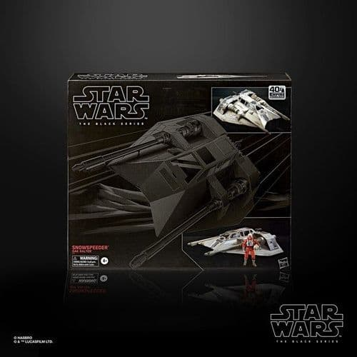 Pre-Order - Star Wars 40th Anniversary Black Series Snowspeeder Full Payment