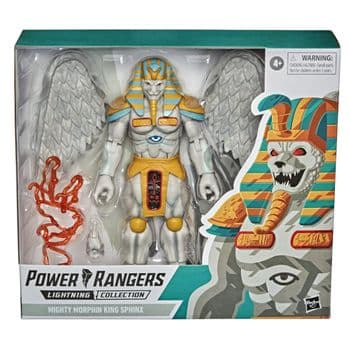 SALE Power Rangers Lightning Collection Monsters Mighty Morphin King Sphinx Action Figure - INSTOCK