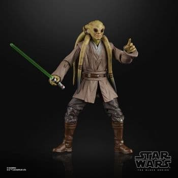 """SALE Star Wars The Black Series Attack of the Clones Kit Fisto 6"""" Figure - INSTOCK"""