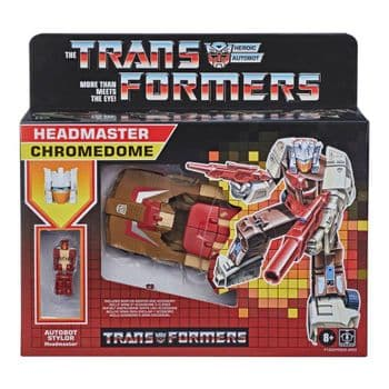SALE Transformers Generations Retro Generation 1 Headmaster Chromedome figure