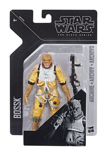 Star Wars The Black Series Archive Line 2019 Wave 1 Bossk Action Figure