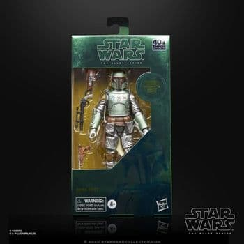 Star Wars The Black Series Carbonised Boba Fett Action Figure
