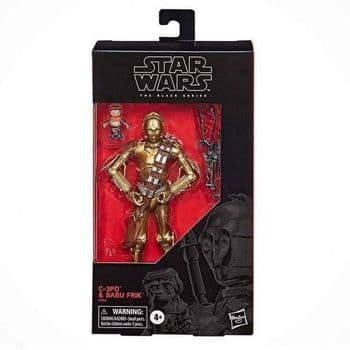 Star Wars The Black Series Rise of Skywalker C-3PO and Baba From Figure
