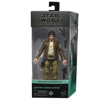 Star Wars The Black Series Rogue One Captain Cassian Andor Figure - Pre-Order
