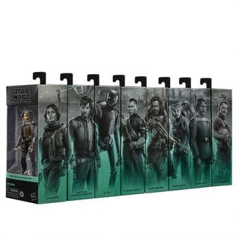 Star Wars The Black Series Rogue One Full Set of 8 Figures - Pre-Order