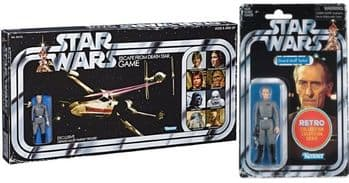 Star Wars The Retro Collection 2019 Escape from the Death Star Board Game with Tarkin Figure