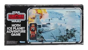 Star Wars The Retro Collection Hoth Ice Planet Adventure Board Game