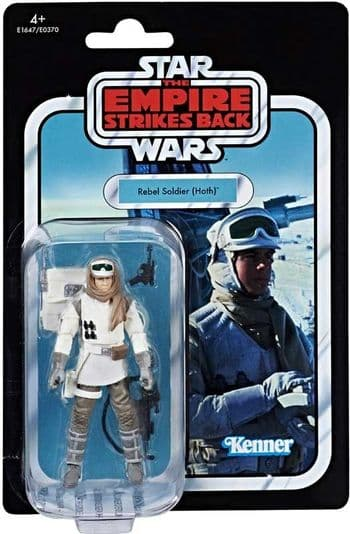 Star Wars The Vintage Collection 2018 Rebel Soldier (Hoth) Figure