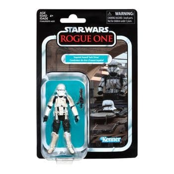 Star Wars The Vintage Collection 2018 Rogue One - Imperial Assault Tank Driver Figure