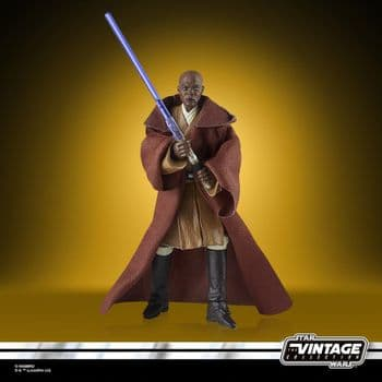 Star Wars The Vintage Collection Attack of the Clones Mace Windu Figure - PRE-ORDER