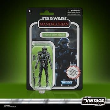 Star Wars The Vintage Collection Carbonized Collection Mandalorian Imperial Death Trooper