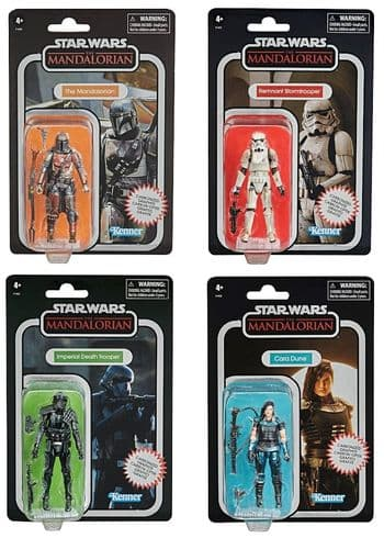 Star Wars The Vintage Collection Carbonized Collection Set of 4 Figures
