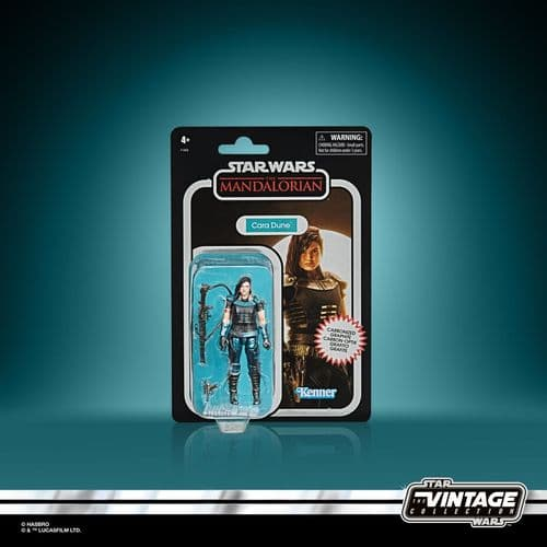 Star Wars The Vintage Collection Carbonized Collection The Mandalorian Cara Dune - 1 PER CUSTOMER