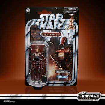 Star Wars The Vintage Collection Gaming Greats Heavy Battle Droid Figure - INSTOCK