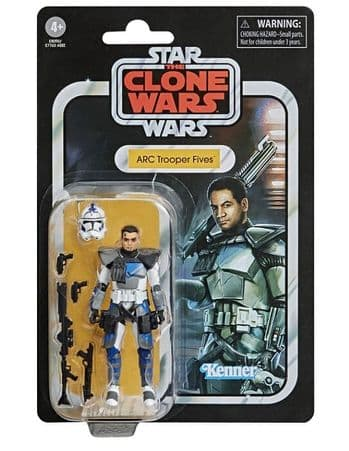 Star Wars The Vintage Collection The Clone Wars Arc Trooper Fives Action Figure