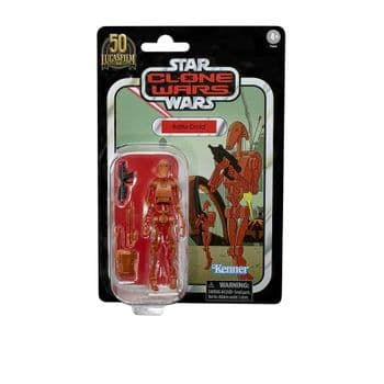 Star Wars The Vintage Collection The Clone Wars Battle Droid - Pre-order