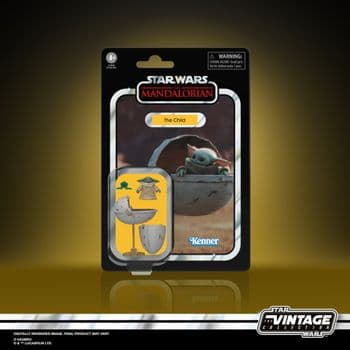 Star Wars The Vintage Collection The Mandalorian Child with Pram Action Figure - INSTOCK