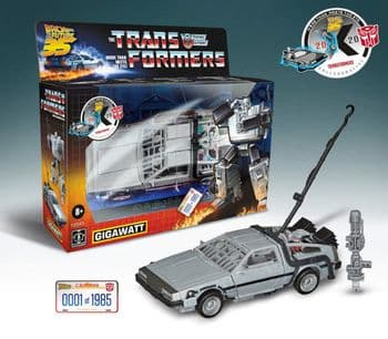 Transformers Back to the Future 35th Anniversary Mash Up Gigawatt - 1 Per Customer