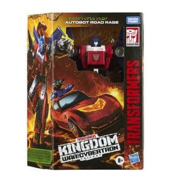 Transformers Generations Kingdom War for Cybertron WFC-K41 Road Rage Exclusive - INSTOCK