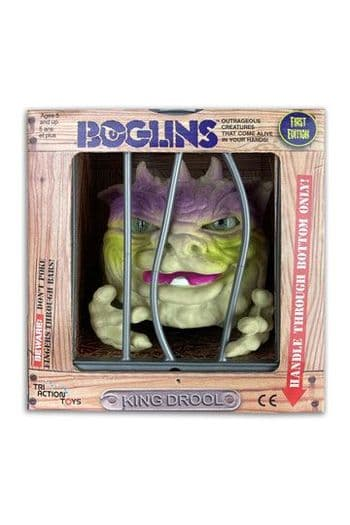 Tri-Action Toys Boglins Hand Puppet King Drool Figure - INSTOCK