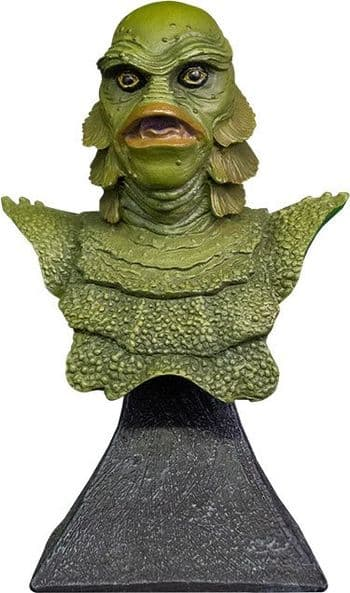 """Trick or Treat Studios Universal Monsters The Creature from the Black Lagoon 1/6 Scale 6"""" Mini Bust"""