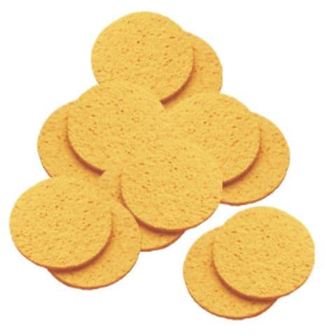 Hive Cellulose Yellow Mask Sponges -12