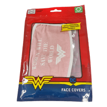 DC COMICS - WONDER WOMAN SAVE THE WORLD FACE COVERS 2-PACK