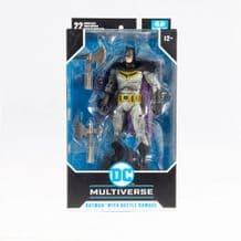 "DC MULTIVERSE - DARK NIGHTS: METAL: BATMAN WITH BATTLE DAMAGE 7"" MCFARLANE FIGURE (PREORDER)"
