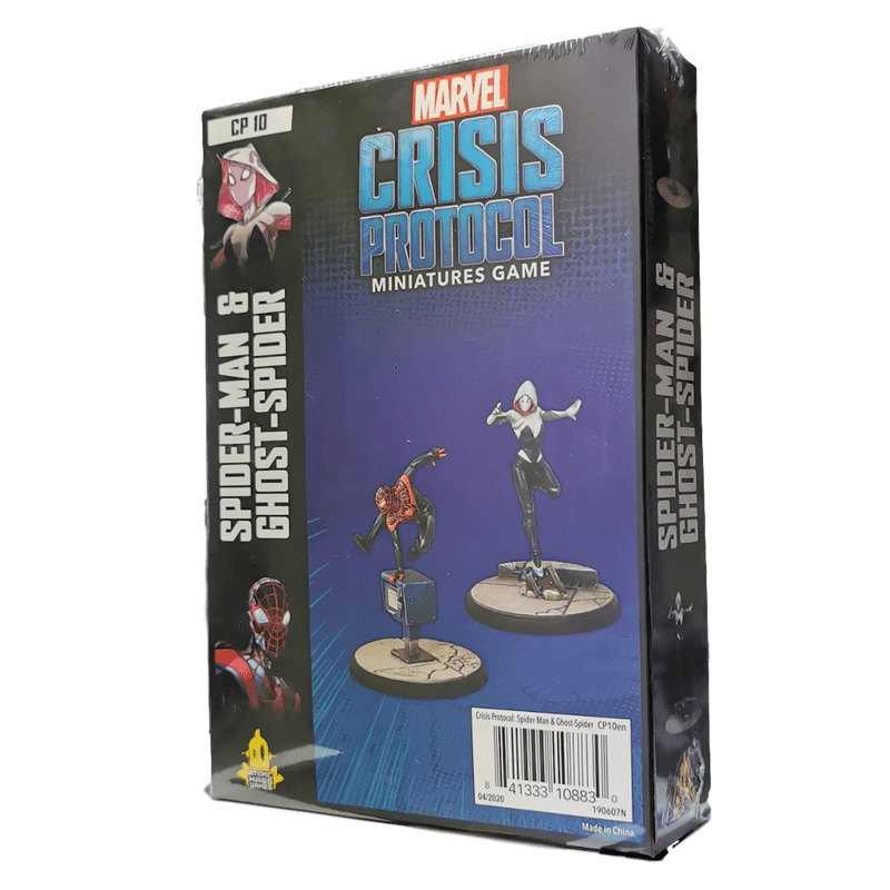 MARVEL: CRISIS PROTOCOL MINIATURES GAME - SPIDER-MAN & GHOST SPIDER CHARACTER PACK
