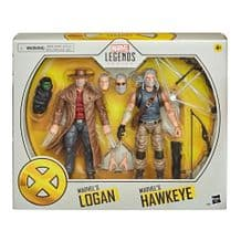 MARVEL LEGENDS: MARVEL'S LOGAN & MARVEL'S HAWKEYE 2-FIGURE PACK