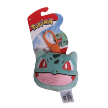 OFFICIAL POKEMON  CLIP ON PLUSH: BULBASAUR HEAD
