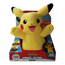 OFFICIAL POKEMON POWER ACTION PIKACHU INTERACTIVE PLUSH