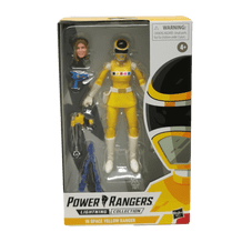 POWER RANGERS LIGHTNING COLLECTION: IN SPACE YELLOW RANGER FIGURE