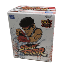 STREET FIGHTER 30TH ANNIVERSARY ACTION VINYLS BLIND BOX  (WALMART EXCLUSIVE)
