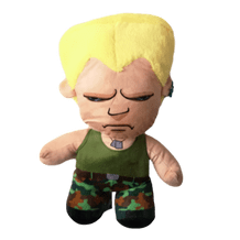 """STREET FIGHTER OFFICIAL 11"""" GUILE PLUSH"""