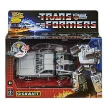 TRANSFORMERS GIGAWATT (TRANSFORMERS x BACK TO THE FUTURE) ACTION FIGURE (PREORDER)
