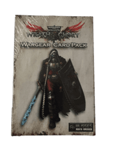WARHAMMER 40,000: WRATH & GLORY RPG - WARGEAR CARD PACK (OLD VERSION)