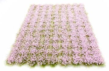 6mm Pastel pink flowers