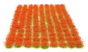 6mm Red flowers